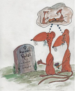 Ratten meiden Bereiche, wo Artgenossen gestorben sind